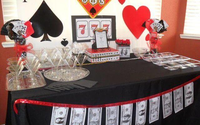 Host a Casino-Themed Party at Home