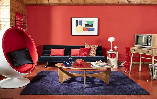 How the UK's living room styles have evolved from the 90s